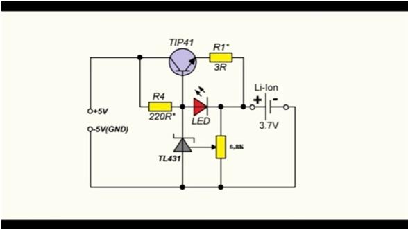 Зарядное устройство для li-ion 18650 своими руками